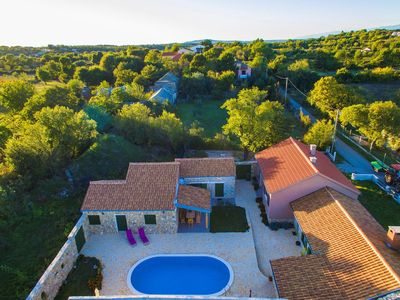 Photo for Beautiful holiday home with private pool, nice guesthouse, charming taverne, BBQ