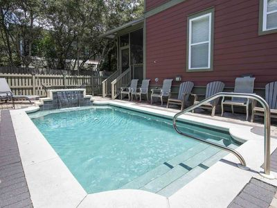 Photo for Beach Home with Private Pool! Steps from the Beach! Seaside and Rosemary Beach J