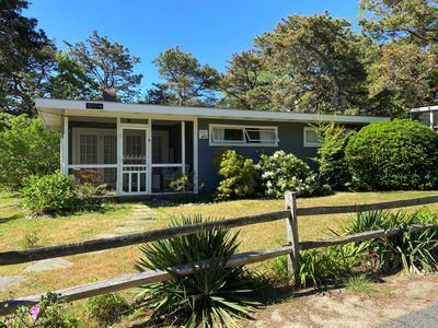 Photo for Beautiful vintage  3BDR  cottage Sea Breeze , steps from Lecount Hollow Beach!