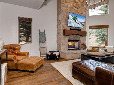 Photo for Abode at Sterling Lodge Ski in Ski out-Private Hot Tub