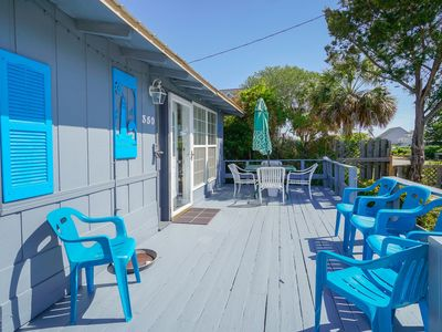 Photo for **MAY & JUNE DISCOUNTS** FREE LINENS! Only 300-Feet to Beach Access, Hot Tub