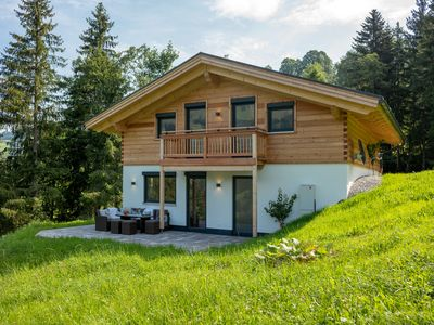 Photo for Newly built chalet in a secluded location on the valley run Pengelstein Schroll / Skirast