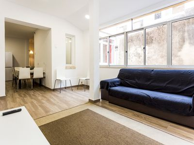 Photo for Historical Lisbon I apartment in Lapa with WiFi & private terrace.
