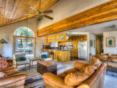 Photo for Inviting Truckee Lodge with Hot Tub and Game Room
