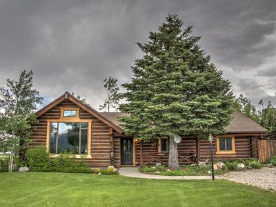Photo for Breathtaking views of Red Lodge Mountain and Grizzly Peak, quiet home with a large yard, WiFi and re