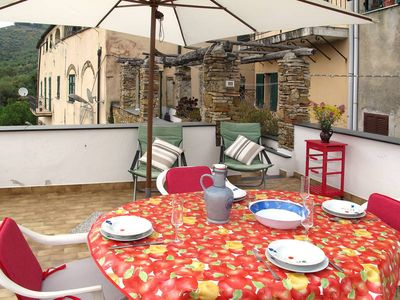 Photo for Apartment LA ROSY  in Civezza, Liguria: Riviera Ponente - 5 persons, 2 bedrooms