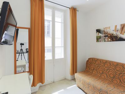 Photo for Set of 4 appart 7 minutes walk from the Palais des Festivals, beach, ..