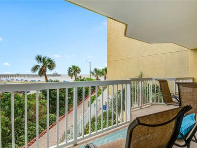 Photo for COV 101- Folly Beach Oceanfront Condo, Great Views and Private Balcony!