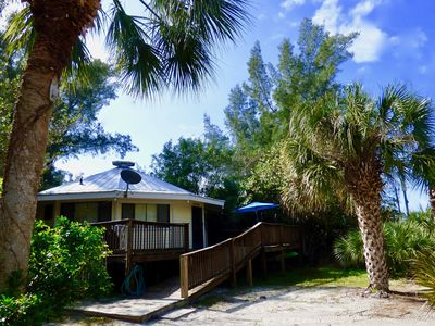 """Photo for Antigua Hut:  Classic """"Old Florida beach cottage"""" just steps to the Gulf."""