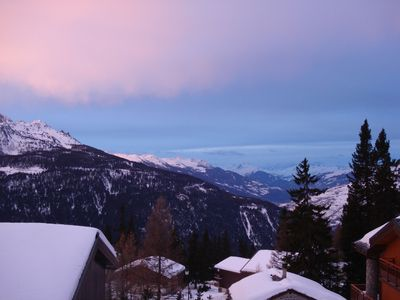 Photo for La Rosiere: beautiful apartment 3 * 2 bedroom 5 pers nearest slopes & shops