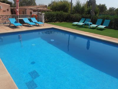Photo for Can Tomeu, country house with pool and Wi-fi for 7 people