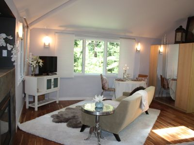 Photo for Luxurious Creekside Studio minutes from downtown Mill Valley, PRIVATE unit