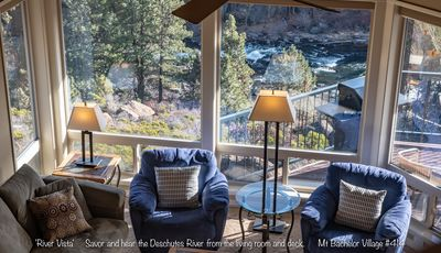 Photo for Enjoy Soaring Deschutes River Views from this Beautifully Appointed Two-Bedroom