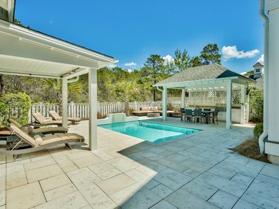 Photo for Watersound 4 Bdrm, Private Pool, Summer Kitchen, 4 & 6 Seat Golf Carts & MORE!