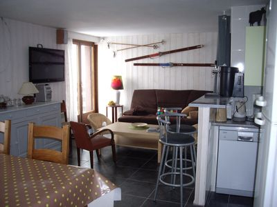 Photo for APARTMENT AT THE FOOT OF THE SLOPES 8 PEOPLE