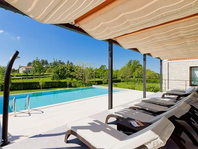 Photo for This 3-bedroom villa for up to 6 guests is located in Sveti Petar and has a private swimming pool, a