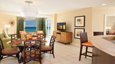 Photo for Beautiful Oceanfront in Palm Beach! 1 BR Villa at Marriott s Aruba Ocean Club