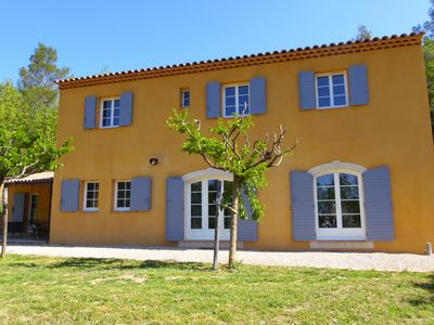 Photo for Splendid Bastide in Provence, 185 m2, with Swimming pool 10 people