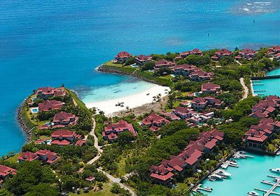 Eden Island showing just one of its 4 gorgeous beaches