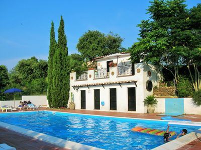 Photo for Three-room detached house Olivo with pool, terrace and garden - Casale Fonte di Rose