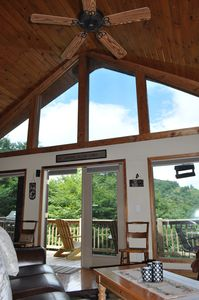 Photo for Sugar Bear Cabin - Mountain Views, Vaulted Ceilings, Cool Breeze
