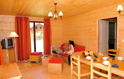 Photo for Surface area : about 31-35 m². Living room with 2 pull-out beds. Bedroom with armchair bed