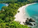 Overlooking the White Sand Beaches of Manuel Antonio