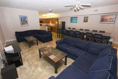 Large Open Plan Area for the whole Family
