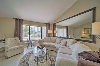 The light-filled interior embodies all the comforts of home.