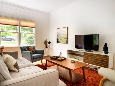 Photo for Hip, Mid-Mod Apartment - Walking Distance to Emory!