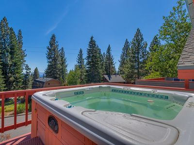 Photo for Camp Windsor - 4 BR with Hot Tub, Ping Pong, Foosball - Sleeps 12 - Dogs OK