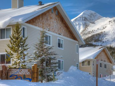 Photo for In Mountain Village!!! Walk to Lifts!!! Perfect for Families and Couples!!!