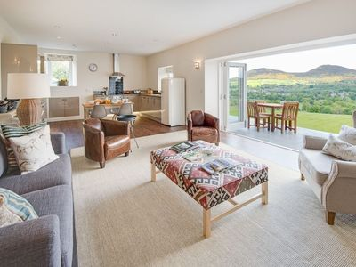 Photo for SMIDDY - a superb new barn conversion with outstanding views, Wifi, sleeps 4