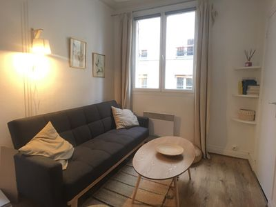 Photo for Superb bright apt near Montmartre