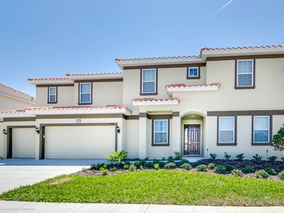 Photo for Beautiful 14 Bed Gated Pool Home At Solterra Resort