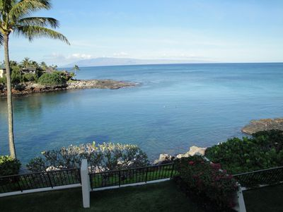 Photo for Private Ocean Front Napili Point C-20 Amazing View Condo 2BD/2BA Swim W/ Turtles