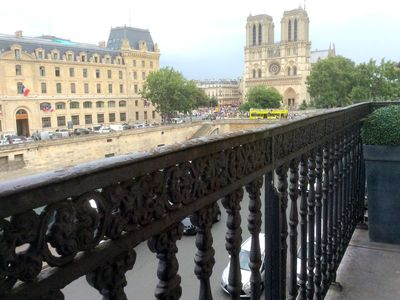 Photo for Stunning Views + Balcony - St. Michel