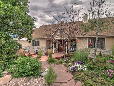Family Home on 2 25 acres with view of Blodgett Peak and city - Northwest  Colorado Springs