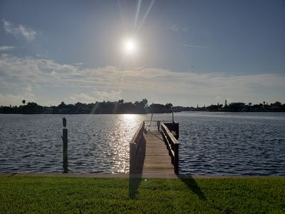 Photo for RELAX ON THE INTERCOASTAL OR TAKE A SHORT WALK TO THE BEACH!