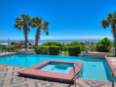 Photo for Osprey Nest, Luxury Oceanfront Home in Myrtle Beach with Great Views and Beautiful Pool Area