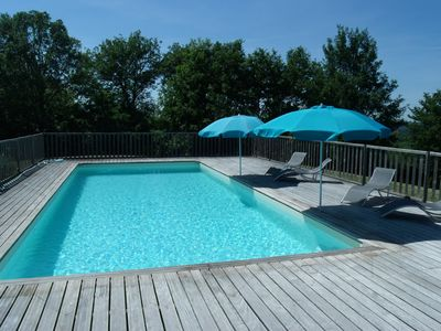 Photo for Charming cottage, near SARLAT, 6-8 pers., 3 Keys, SUPERB SWIMMING POOL 5 * 11