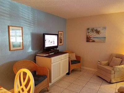 Photo for Great Rates all Year! Nice One Bedroom Cute Beach Condo.