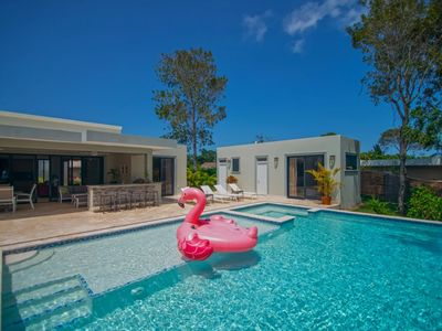Photo for A fun, contemporary home with great outdoor space!