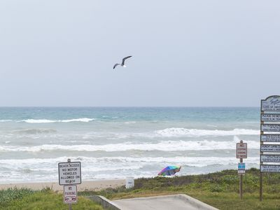 Photo for Ocean Front Townhouse with Beach Views! Walking Distance to Restaurants & Entertainment!