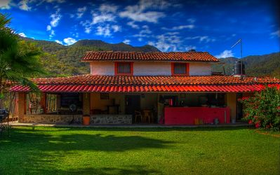 Photo for Lovely Mexican rustic house for 14 pers. Max. Incredible Mountains views