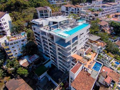 Photo for Spectacular Penthouse Ocean and City Views in Old Town Puerto Vallarta