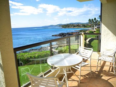 Photo for Family Pick w/Kitchen Perks, Lanai, Flat Screen, WiFi, Laundry–Poipu Shores 205A