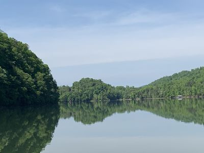 Photo for Norris Lake front home in the mountains!
