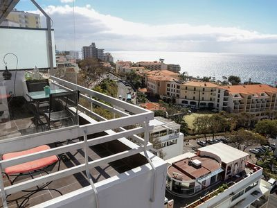 Photo for Beach front Balcony with Sea View