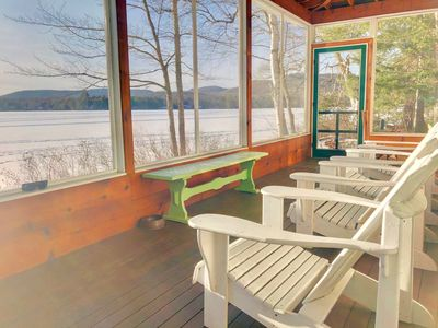 30FL: Quintessential LAKE HOUSE on Forest Lake, close to Bretton Woods, Santa's Village, and Forest Lake State Park.   COVID SPECIAL RATES AND POLICIES IN EFFECT